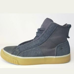 G- STAR RAW CAMPUS RAW SCOTT HIGH-TOP SNEAKERS